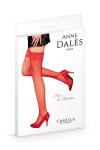 Bas autofixants Camilla Rouge - Anne d'Alès