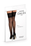 Bas autofixants Denise Noir - Anne d'Alès